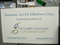 Random Act of Kindness Day promotional card