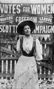 women voting Canada