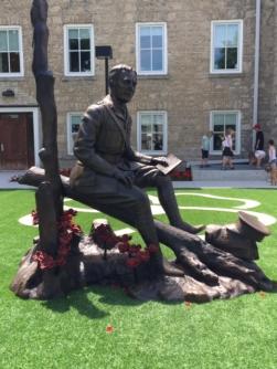 Guelph, John McCrae statue