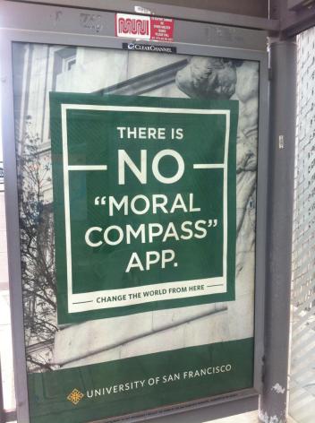 No moral compas app